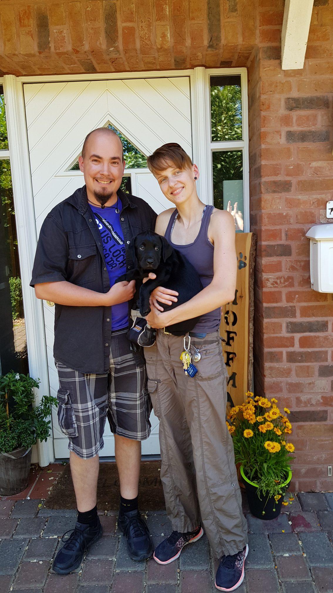 Alvar hat südlich von Hannover sein neues Zuhause gefunden. Er wird als Rettungshund beim THW ausgebildet.