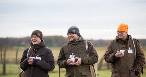 Christiane, Jan und Thomas richten auf dem TWT Mikado